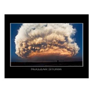 Nuclear Storm Postcard
