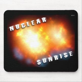 Nuclear Sunrise Mouse Pad