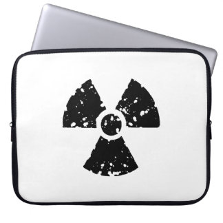 Nuclear Symbol Laptop Sleeves