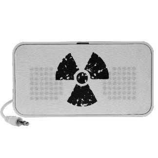 Nuclear Symbol Mp3 Speakers