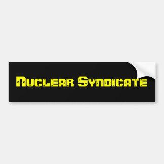Nuclear Syndicate Bumper Sticker