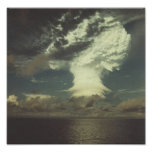 """Nuclear Test Photo """"Mike"""" Poster"""
