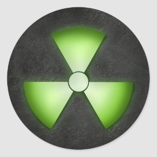 Nuclear Waste Sticker