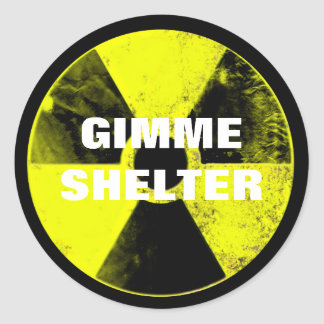 nuclear weapons round sticker