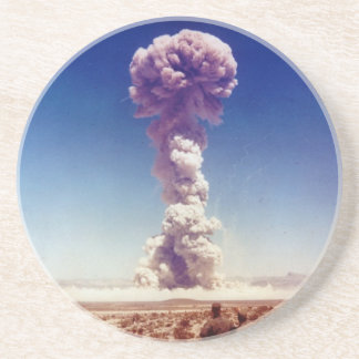 Nuclear Weapons Test Operation Buster-Jangle 1951 Beverage Coaster