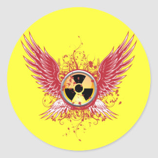 Nuclear Wings Stickers