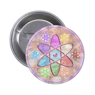 NUCLEUS - Adding Beauty to Science 6 Cm Round Badge