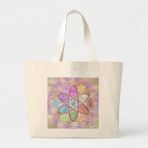 NUCLEUS - Adding Beauty to Science Canvas Bag