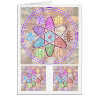NUCLEUS - Adding Beauty to Science Greeting Card