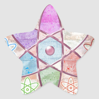 NUCLEUS - Adding Beauty to Science Star Sticker