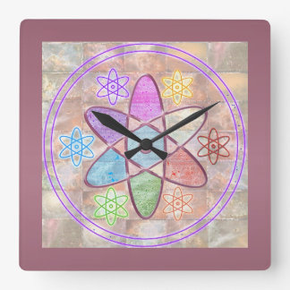 NUCLEUS - Adding Beauty to Science Wall Clock
