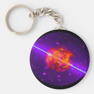 Nucleus Basic Round Button Key Ring