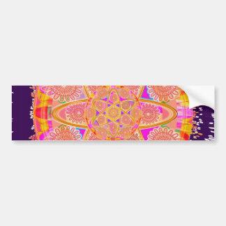 NUCLEUS - Beautiful CHAKRAs Bumper Sticker