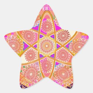 NUCLEUS - Beautiful CHAKRAs Star Sticker