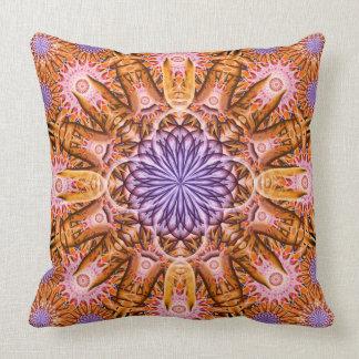 Nucleus Mandala Throw Cushion