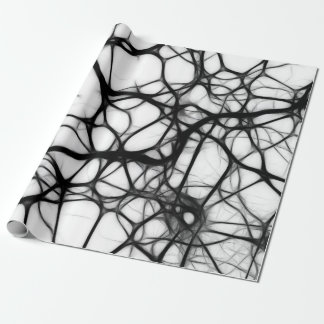 Nucleus Nerve Neurons Wrapping Paper