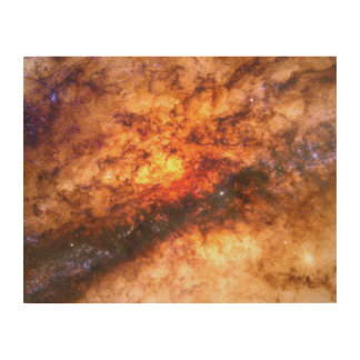 Nucleus of Galaxy Centaurus A Wood Prints