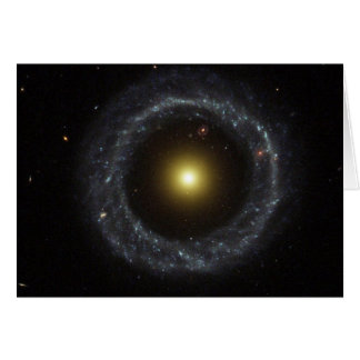Nucleus of Hoag's Object Galaxy Greeting Card