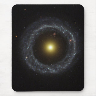 Nucleus of Hoag's Object Galaxy Mouse Pad