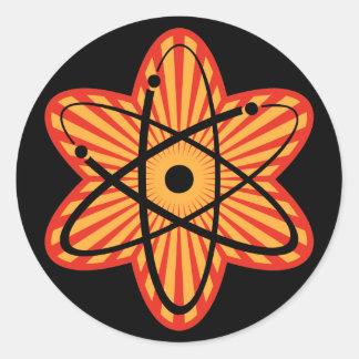 Nucular Atomics IV Round Sticker