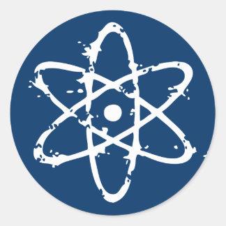 Nucular Atomics! Round Sticker