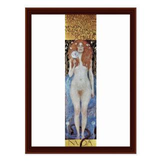 Nuda Veritas By Klimt Gustav Postcard
