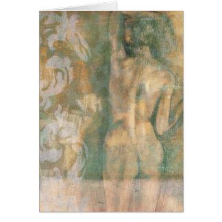 Nude Female Figure by Jennifer Goldberger Card