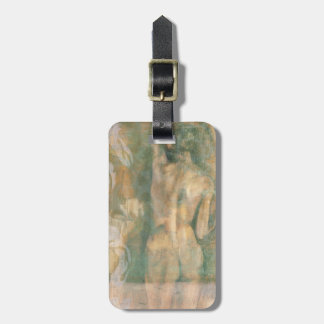 Nude Female Figure by Jennifer Goldberger Luggage Tag