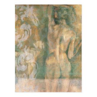 Nude Female Figure by Jennifer Goldberger Postcard
