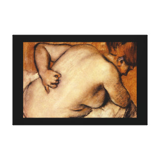 Nude Scratching Her Back_Studies of the Masters Canvas Print