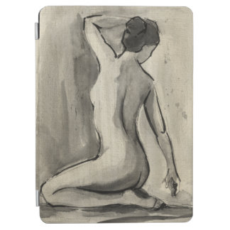 Nude Sketch of Female Body by Ethan Harper iPad Air Cover