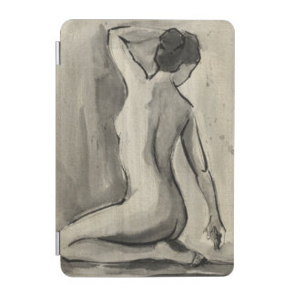 Nude Sketch of Female Body by Ethan Harper iPad Mini Cover