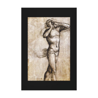 Nude Study for the Figure_Studies of the Masters Canvas Print