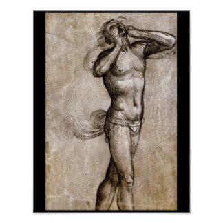 Nude Study for the Figure_Studies of the Masters Poster