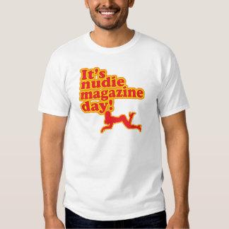 Nudie Magazine Day! Tshirts
