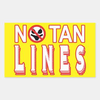 Nudist / Naturist Rectangular Sticker