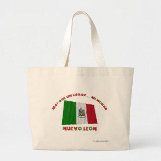 Nuevo León - Más Que un Lugar Mi Hogar Tote Bags
