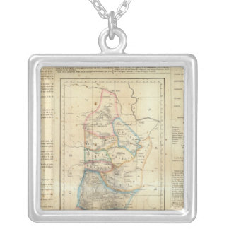 Nuevo Leon, Mexico Silver Plated Necklace