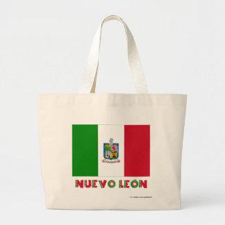 Nuevo León Unofficial Flag Tote Bag