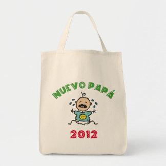 Nuevo Papa 2012 Grocery Tote Bag