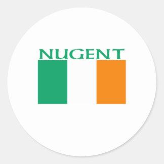 Nugent Round Stickers