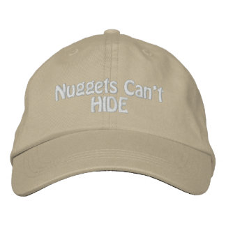 Nugget Hunter Gold Prospecting Panning Hat