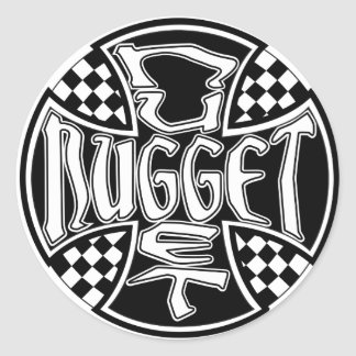 Nugget Surf Maltese Logo Sticker