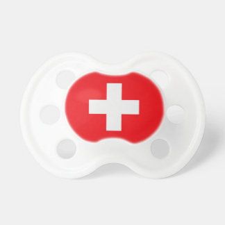 Nuggi with Swiss cross Baby Pacifier
