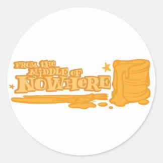 Nuke Revolution Round Stickers