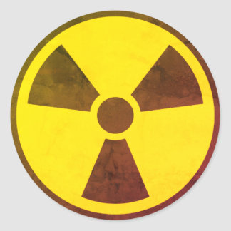 Nuke Round Sticker