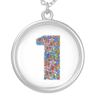 NUMBER1 NumberONE Encourage Achievement Round Pendant Necklace