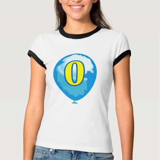 Number 0 balloon T-Shirt