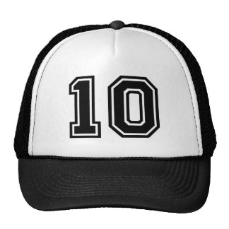 Number 10 Classic Cap