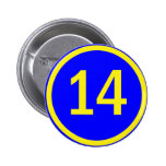 number 14 in a circle button